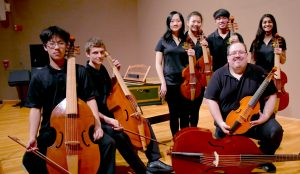 The Adlai E. Stevenson High School Viol Consorts