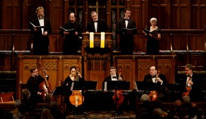 Performing with the Newberry Consort of Viols