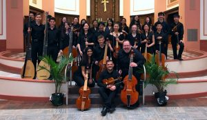 Co-directing the Adlai E. Stevenson High School Baroque Ensemble & Viol Consort