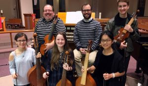 The Bach Academy Viols at Bethany Lutheran Church's J.S. Bach Academy of Music