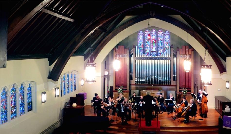Phillip Serna Performing with the North Shore Chamber Arts Ensemble in Glencoe, IL