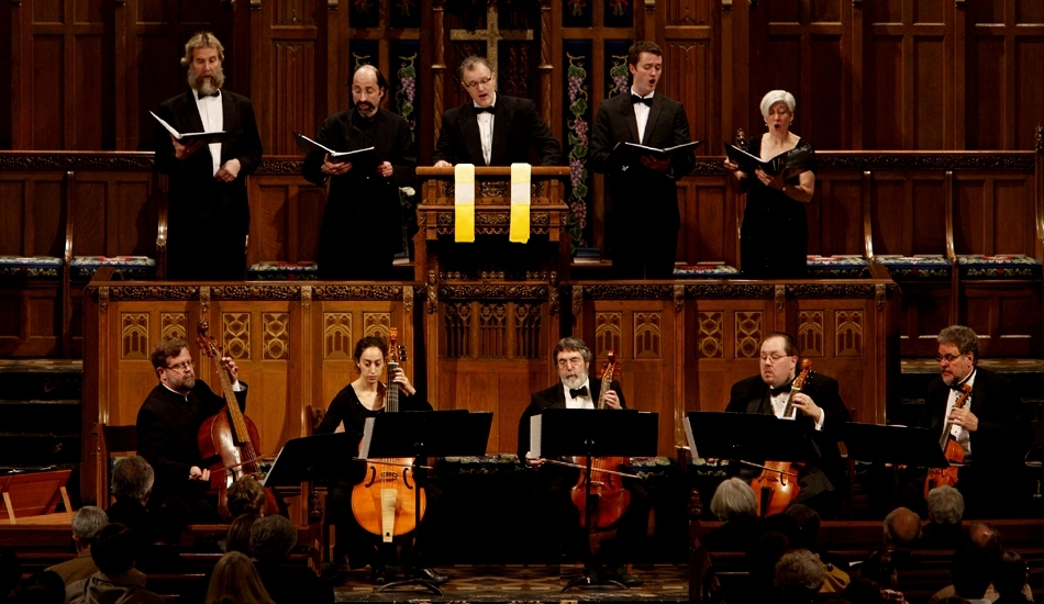 Phillip Serna Performing with the period-instrument ensemble the Newberry Consort of Viols at the 1st Chicago Early Music Festival.