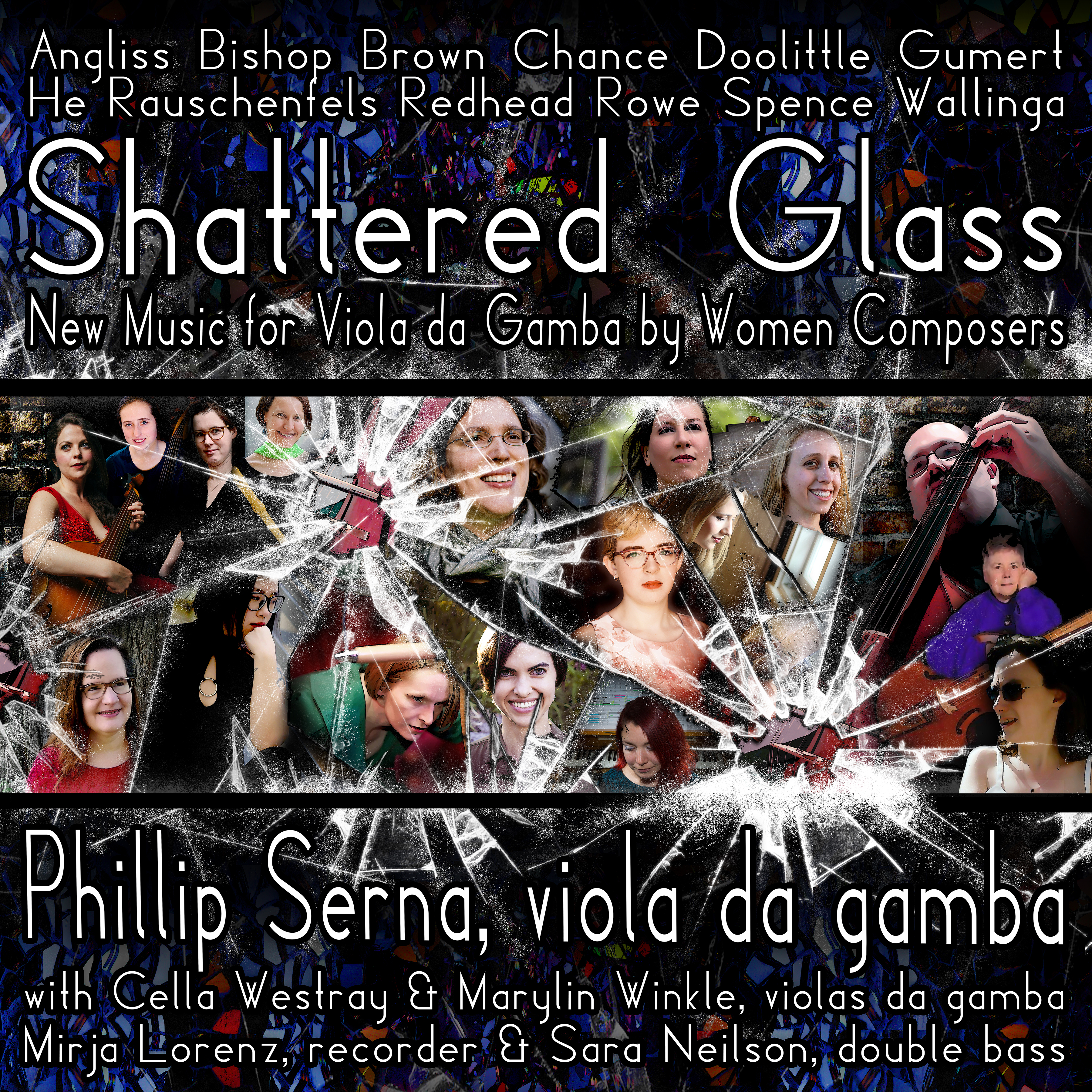 Sample Shattered Glass - New Music for Viola da Gamba by Women Composers