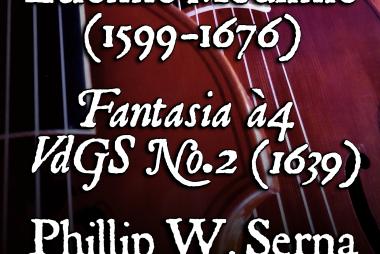 Étienne Moulinié (1599–1676) – Fantasia à4, VdGS No.2 for 2 Treble Viols, Tenor & Bass Viols (1639)
