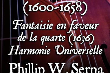 Antoine de Cousu (1600-1658) - Fantaisie en faveur de la quarte from Harmonie Universelle (Marin Mersenne, Paris, 1636)